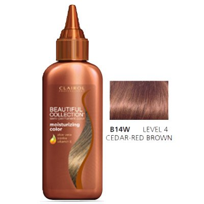 CLAIROL PRO Beautiful Collection Semi-Permanent Hair Color, Wine Brown CI-BCSP-B175W