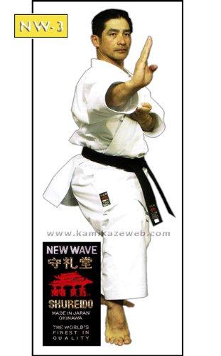 shureido new wave 3 karate gi uniform white by kamikaze size 7 205