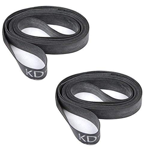 Bicycle Rubber Rim Strips (Sold as Pair) (27x1-1/8, 12mm Wide) by kenda (Bike Rim 12)