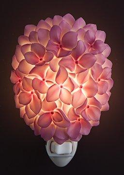 Pink Rose Night Light - 2