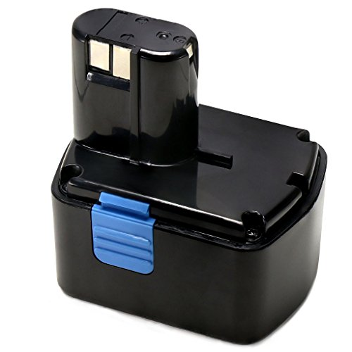 POWERAXIS 14.4v 2.0Ah EB1414S Battery Replacement for Hitachi EB14B EB14S EB1412S 324367 WR14DMR UB18D CJ14DL DS14DL DV14DL DS14DVF3 Driver Drill