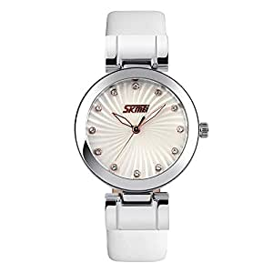Skmei Casual Watch For Women Analog Leather - MJS0052
