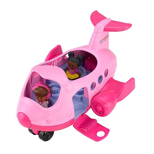 fisher price airplane pink - 3
