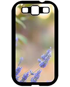 2015 7010968ZE281836919S3 Hot Protection Case Blue lavender flowers Samsung Galaxy S3