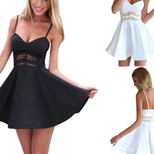 Teen Dress Graduation Party Sleeveless Dress Lace V Neck Sexy Hollowed Dress Skirts