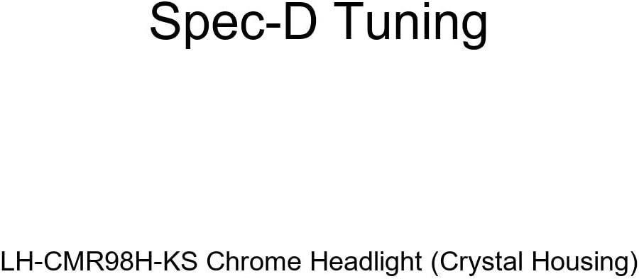 Spec-D Tuning LH-CMR98H-KS Chrome Headlight Crystal Housing