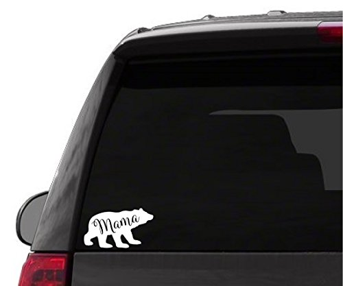 Car Sticker Decal - Mama Bear Sticker - car Truck Funny Sticker Vinyl SUV Minivan Logo ()