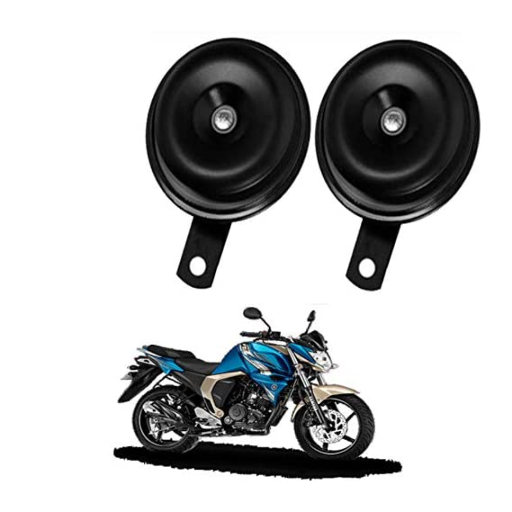 Rawat (BALKO) Primium Quality Bike Horn with 1 Year Replacemant Warranty (Set of 2) for Yamaha FZ-S