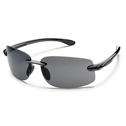 Suncloud Optics Excursion Polarized Sunglasses(Black,Gray - Sunglasses Decent