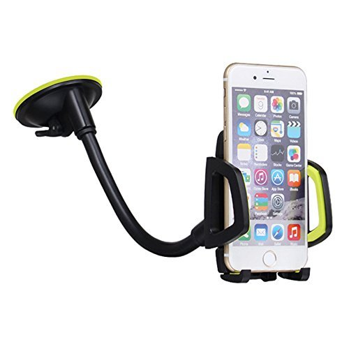 Car Phone Mount,Durable Car Accessories Lazy Mount 360 Windshield Dashboard Moblie Phone Bracket Universal Cell Phone Car Mount Holder Suction Cup Mobile Phone Holder Stand for iphone 6 7 Plus GPS
