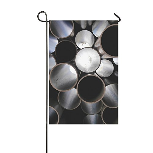 Home Decorative Outdoor Double Sided Light Tubes Plastic Art