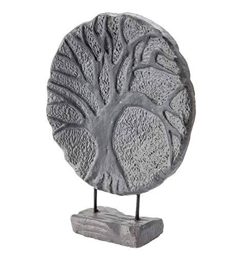 Wind & Weather Circular Tree of Life Indoor/Outdoor Sculpture - 15 W x 19.5 H x 4.5 D