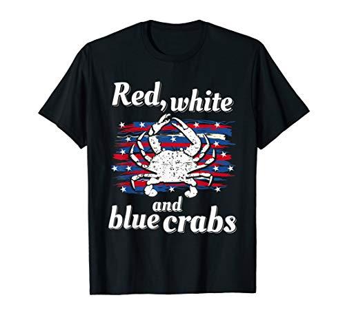 Maryland Crab Chesapeake Bay Blue Men Women Kids Boys Girls T-Shirt