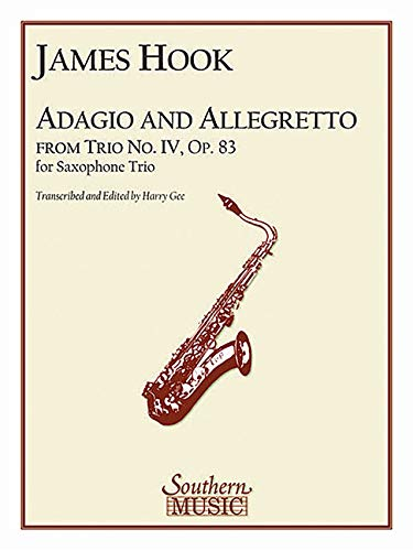 Adagio and Allegretto: Saxophone Trio