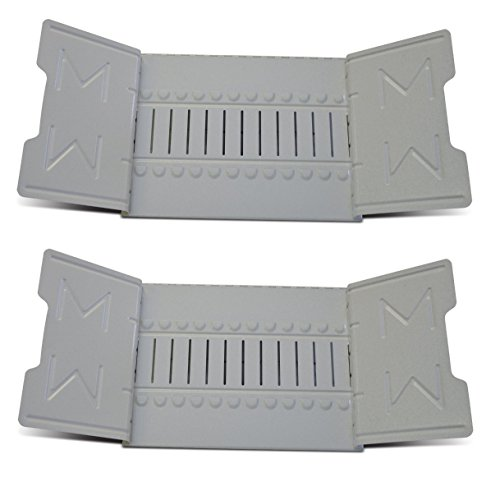 Martin Yale 906G Master Standard Steel Catalog Rack (Pack of 2), Gray, 6