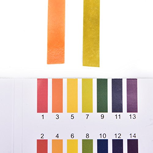 TUANTUAN 10 Packs PH Test Strips PH 1-14 Test Indicator Litmus Paper Strips Tester for Saliva Urine Water Soil Testing (800 Strips) by TUANTUAN (Image #2)
