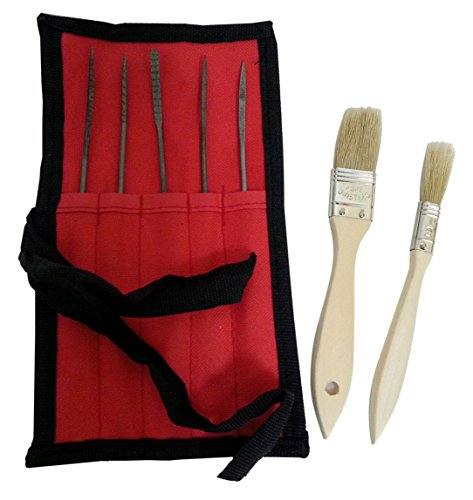 Oneils Italian Style 5 pc Artist Rasp Tool - This is for 2 Sets ! (10 Tools) Set Size: 3 X 180 mm
