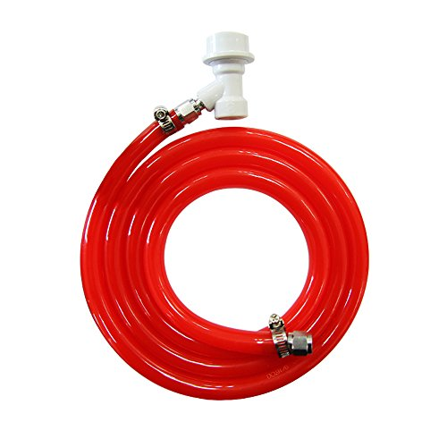 PERA 5/16'' ball lock line assembly, MFL liquid disconnect with 5ft gas line for home brewing by PERA (Image #4)