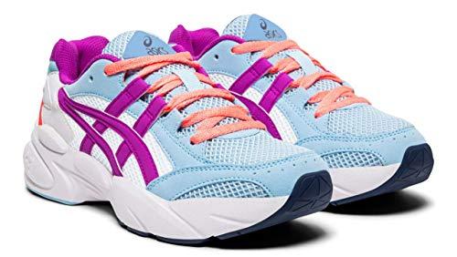 ASICS Gel-BND Kids Running Shoes, Heritage Blue/Orchid, 5.5 M US Big -