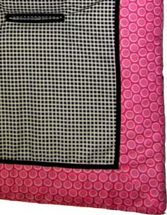 Pink Bubbles Stroller Liner - Made In USA