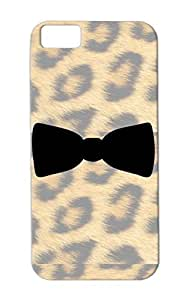 Tie Symbols Shapes Business Suit Bow Shirt Wedding Smoking Party Boss Office Black TPU Case Cover For Iphone 5c