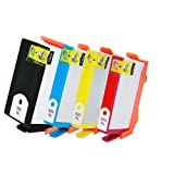 HI-VISION HI-YIELDS ® Compatible Ink Cartridge Replacement for Hewlett-Packard (HP) 920XL (1 Black, 1 Cyan, 1 Yellow, 1 Magenta, 4-Pack), Office Central
