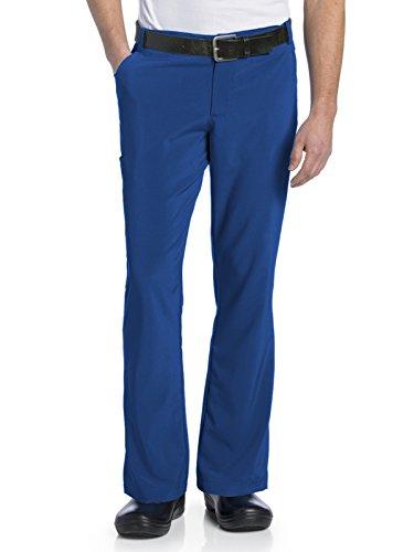 - Landau Men's Drawstring Scrub Pant with Belt Loops, Royal, Small Tall