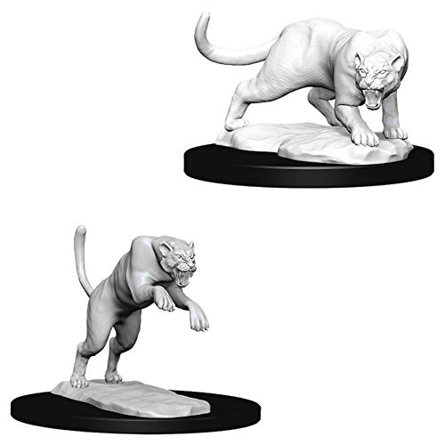 Panther /& Leopard W6 Displacer Beast W1 Dungeons /& Dragons Nolzurs Marvelous Unpainted Miniatures Bundle