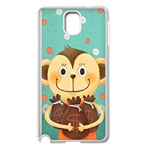 Samsung Galaxy Note 3 Phone Case With Cute Monkey Pattern