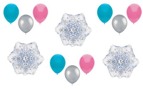 1 X Disney Frozen Balloons Expansion Set - Party Decorating Kit - 12 Balloons Total