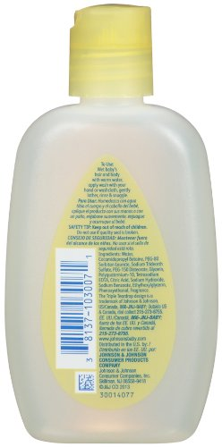 Johnson's Head-To-Toe Baby Wash, Travel Size, 3 Fl. Oz. (Pack of 6)