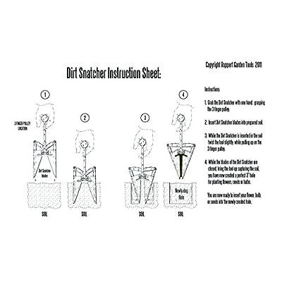 Ruppert Garden Tools, LLC Dirt Snatcher : Garden & Outdoor