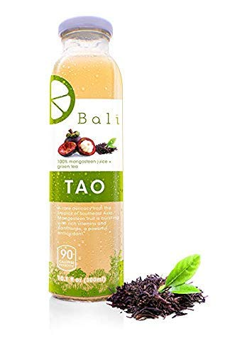 Bali TAO 100% Pure Mangosteen Juice + Green Tea (18-Pack)