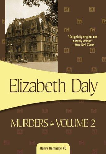 Murders in Volume 2: Henry Gamadge #3