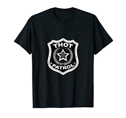Zaddy Thot Patrol Bogo T-Shirt - Thottie Swag Tee Men Girl]()
