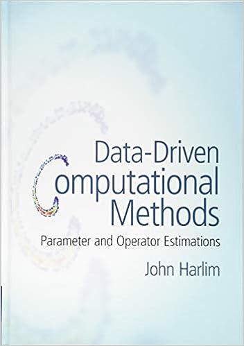 Parameter and Operator Estimations Data-Driven Computational Methods