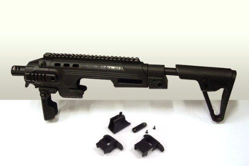 CAA TACTICAL RONI(CAAタクティカルロニ) G1タイプグロックピストルカービンコンバージョンキット黒★エアガン/電動ガン/M4/グロック17C/18C B004R4Y0MO
