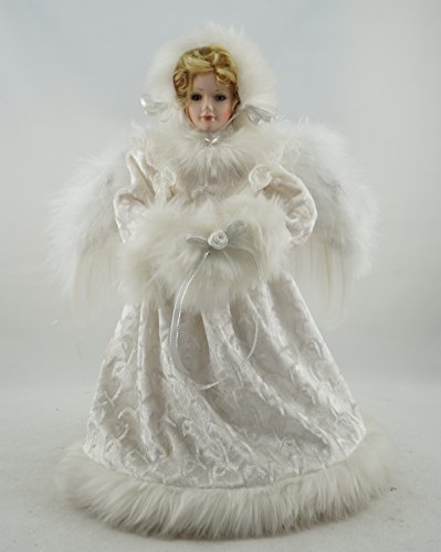Cosette Noble Christmas Decoration Angel Winter Winter Porcelain Doll Wings Home Decoration