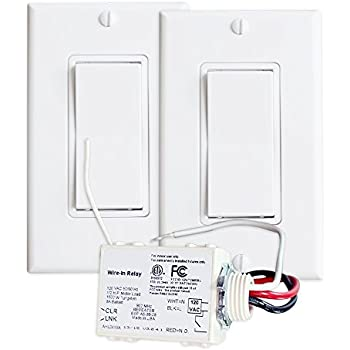 Basic Wireless Light Switch Kit Wall Light Switches