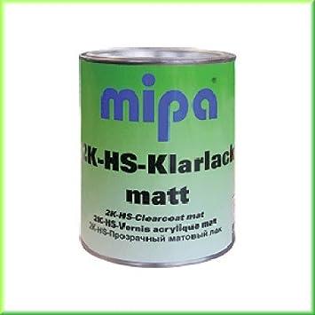 Mipa 2k Hs Klarlack Matt Voc Neuheit 1ltr Auto