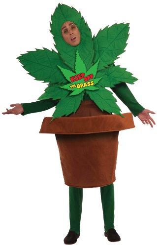 Forum Novelties Men's Keep Off The Grass Funny Adult Costume, Multicolor, Standard -