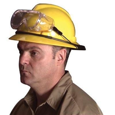 MSA 449895 Goggle Retainer Ring Black Fits Full Brim Hard Hat