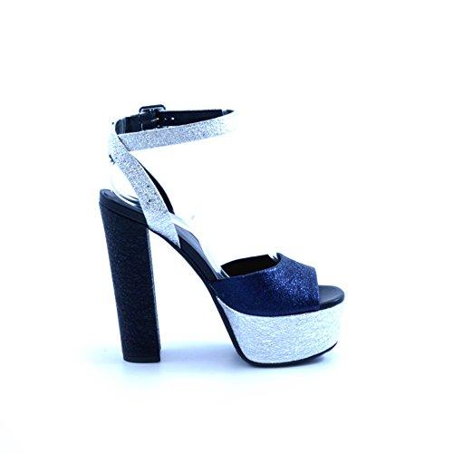 Tiffi , Sandales pour femme bleu bleu