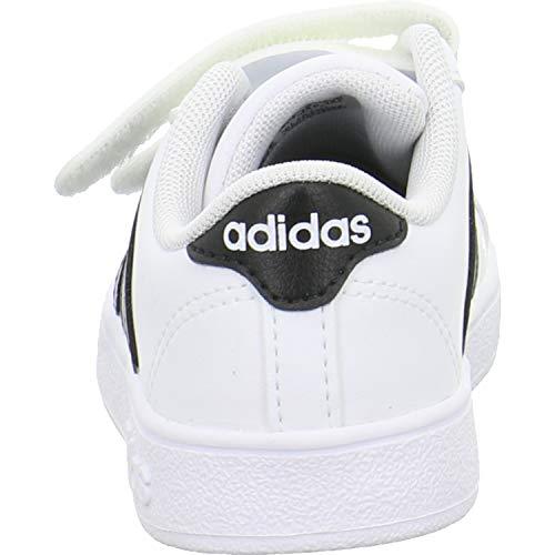 Fitness Cmf Blanc Mixte ftwbla Chaussures Inf De negbas ftwbla 000 Adidas Baseline Enfant 8wTqXX