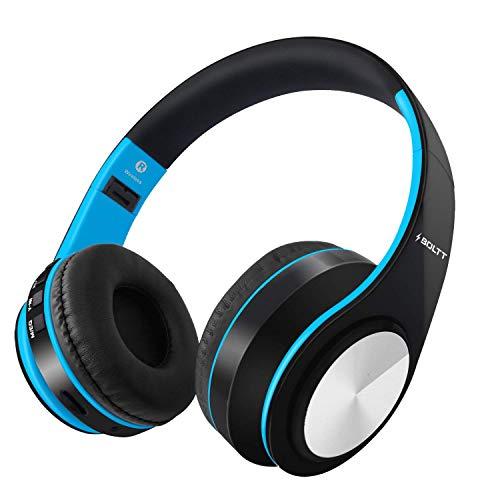 Fire-Boltt Blast 1000 Over-Ear Wireless Headphones (Blue)