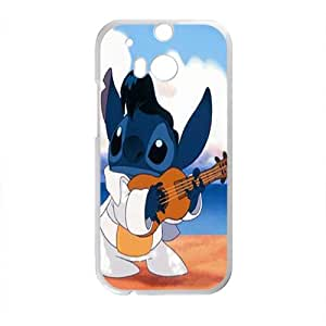 SANLSI Lilo & Stitch Case Cover For HTC M8 Case
