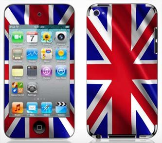 - Skinhub United Kingdoms British Flag Skin for Apple iPod Touch 4G 4th Generation