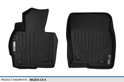 Black 2013-2016 1st Row Set MAXLINER A0145 Floor Mats for Mazda Cx-5