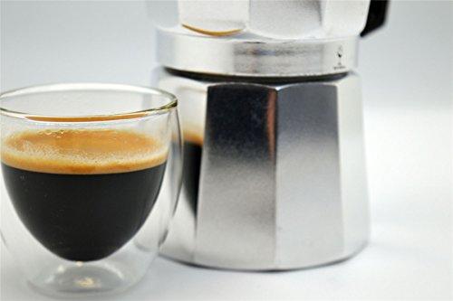 photo Wallpaper of Argon Tableware-Argon Tableware 6 Cup Italian Style Stove Top Espresso Coffee Percolator.-Silver