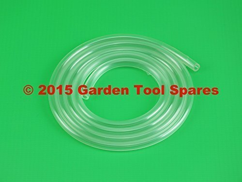 FUEL PETROL PIPE 2.3MM ID 4.0MM OD 1M STRIMMER CHAINSAW LAWNMOWER HEDGE TRIMMER Garden Tool Spares